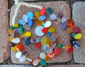 African Wedding Beads: Paddle Shape