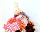 Paper Mache Party Hat Headband - Option 7