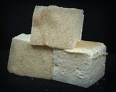 Eggnog Marshmallows - French Style Guimauves - Seasonal Flavor - French Vanilla - Foodie Gifts - Holiday Marshmallows
