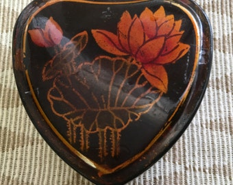 Little Lacquered Heart Box