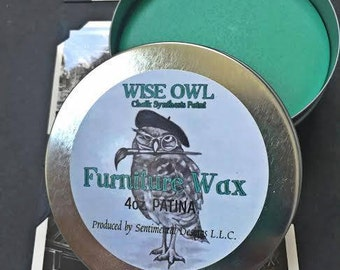 Wise Owl Furniture Wax- 8 oz. Size