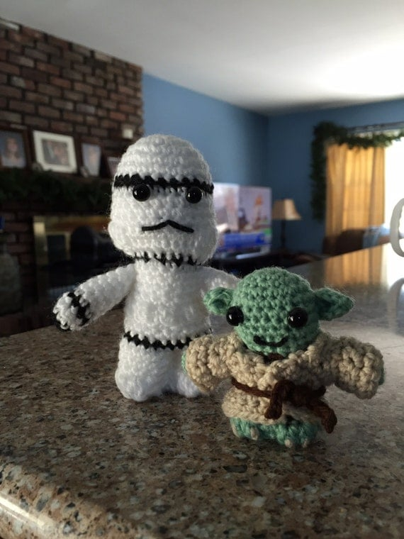 Yoda Jedi Master Star Wars amigurumi