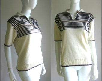 40% off 70s vintage deadstock knit top