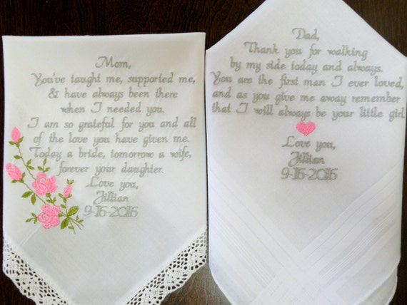 Gift For Mom On My Wedding Day : Mom and Dad Wedding Day Gift Wedding Planning For Gifts on Your ...