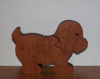 Puppy Puzzle for Child  - Kid's Toy - Decor for Child - Kid's Puzzle