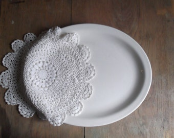 Ironstone Platter Rustic Farmhouse Decor Gallery Wall Plate Buffalo China Country Living
