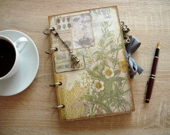 Notebook Diary Travel Journal - lined pages