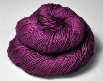 Burning fuchsia - Silk/Cashmere Lace Yarn