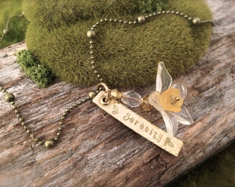 Daffodil Serenity Necklace
