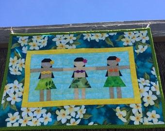 Hula Kids Wall Hanging