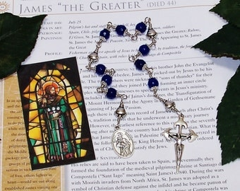 Unbreakable Catholic Chaplet of St.James the Greater - Patron of Soldiers, Pharmacists, Veterinarians, Equestrians and Against Arthritis