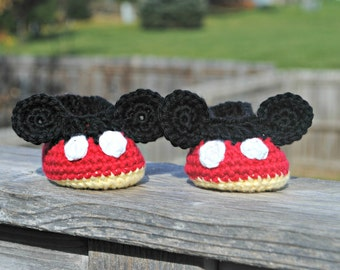 Mickey Mouse Slippers Minnie Mouse Slippers