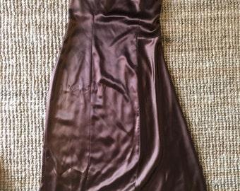 Calvin Klein 90s Satin gown