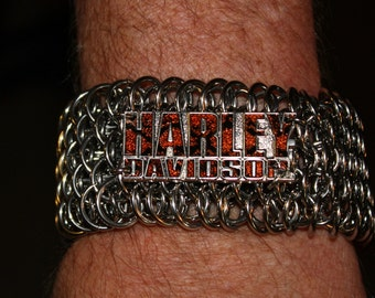 HD Drangonscale Stainless Steel Unisex Chain Maille Bracelet