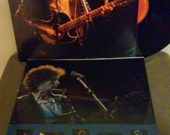 Bob Dylan vinyl - Real Live - Original Edition - Vintage Record  Lp in Near Mint Minus Condition