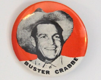 Buster Crabbe Pin