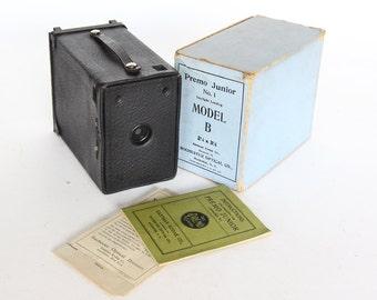 Kodak Premo Junior Model with Box and Instructions