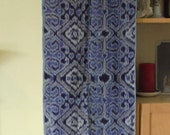 IKAT cloth from BALI indigo ethnic home decor sewing supplies from MyGypsyCottage on Etsy