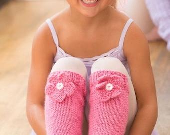 Knitting Pattern Leg Warmers Instant Download PDF Easy Pattern Knit Leg Warmers Pattern Girl Leg Warmers