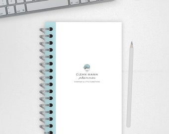 Clean Mama PLANNER - undated - 18 documents - HALF-SIZE - Instant Download