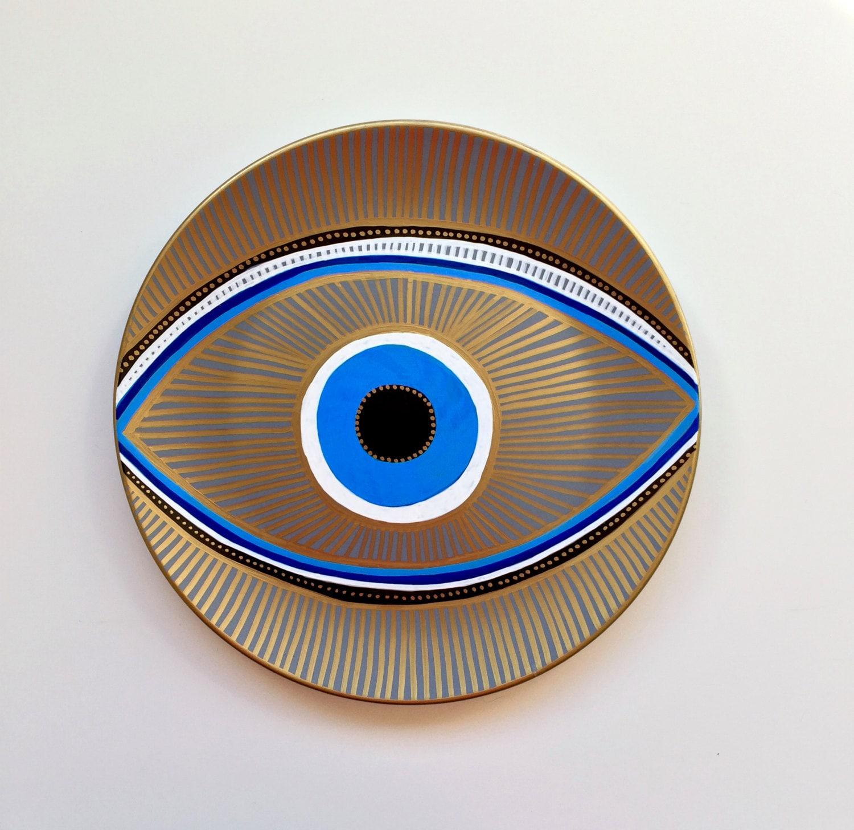 Evil Eye Decor Wall Evil Eye Original Art Art