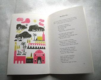 Mid Century Ilonka Karasz Illustrations 1958 Happy New Year Merry Christmas Book Poetry