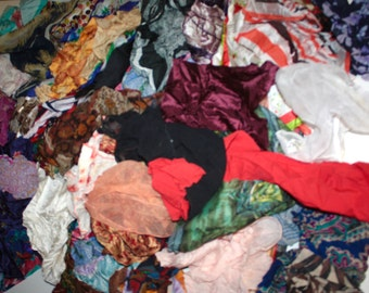 100 Vintage Scarves Destash Lot // 1940s 50s 60s 70s 80s // Instant Collection/RH25a