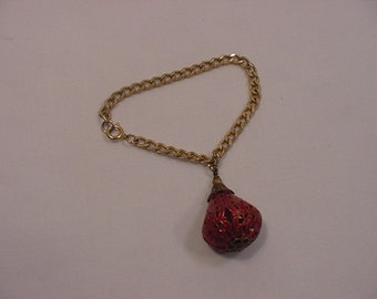 Vintage Filigree Bulb Bracelet   15 - 110