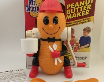 Mr Nutty Peanut Butter Maker to make real peanut butter
