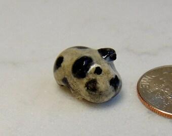 Micro Mini Guinea Pig - Terrarium Guinea Pig - Tiny Miniature Figurine - Pottery Animals - Cavy - Clay Animals - Small Pet  - Tiny Mini
