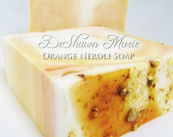 SOAP - 3lb Orange Neroli Soap Loaf, Handmade Soap Loaf, Vegan Soap, Wholesale Soap Loaf