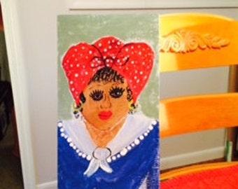 Sue Lee my friend original painting by nita