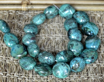 Single old turquoise beads loose strands,Turquoise nugget stone beads---turquoise nugget gemstone beads loose strand 15inch