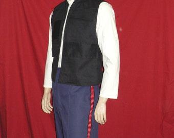 Han Solo Pants, Star Wars, Cosplay, Brown, Blue, Blood Stripe, Custom Made Costume
