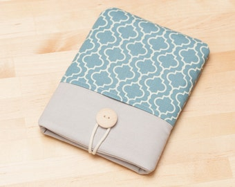 Kobo glo HD case /  kindle sleeve / Kindle paperwhite case / kindle sleeve - Retro blue -