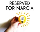 RESERVED MAGNET for Marcia Kutie Keiths' Kitchen Refrigerator Magnet