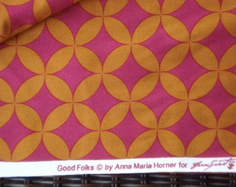 Good Folks Cathedral zinnia Anna Maria Horner FQ WASHED