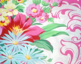 Nicole Jennifer Paganelli Mod Girls pink Free Spirit fabrics BTY by the yard