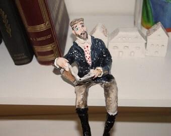 Oh monsieur! - Sculpture- Home decor
