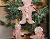 Christmas Special-Primitive Christmas Hanging Gingerbread Man Ornament-FAAP