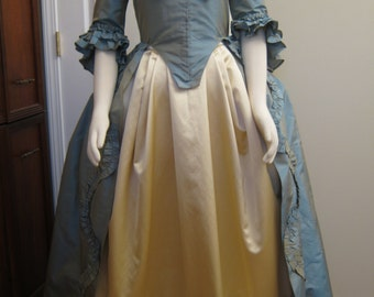 Colonial Silk Taffeta Gown 12