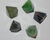 Fluorite Octohedran- polished