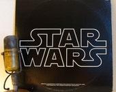"Star Wars Vinyl Record Album LP1970s Sci Fi Movie Han Solo Pop Culture ""Star Wars"" Soundtrack (1977 20th Century Fox - 2Lp only - 2 Inserts)"