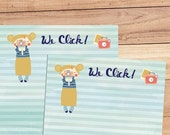 We Click - A5 Stationery - 12, 24 or 48 sheets