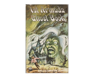 First Armada Book of Ghosts. 1978 Paperback. Spooky. H.G.Wells. Christine Bernard. Green.