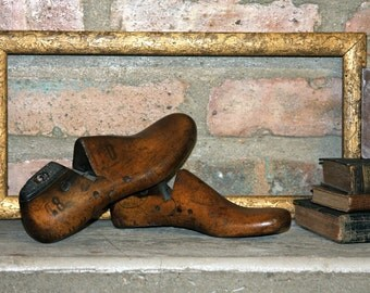 Childrens Wood Shoe Forms