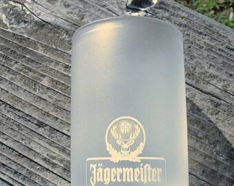 Vintage Jägermeister Frosted Shot Glasses MINT Condition