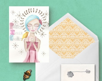 Greeting Card Practice Inner Kindness