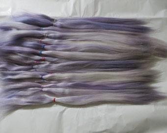 Doll Hair / Suri Alpaca / BJD / Blythe / Reroot / Wig (Lilac)