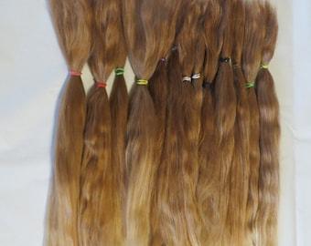 Blythe / BJD / MSD / Combed Doll Hair / Re root / Combed Suri Alpaca / Wig    (75)